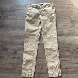 American Eagle Outfitters Slim Fit Khaki Pants